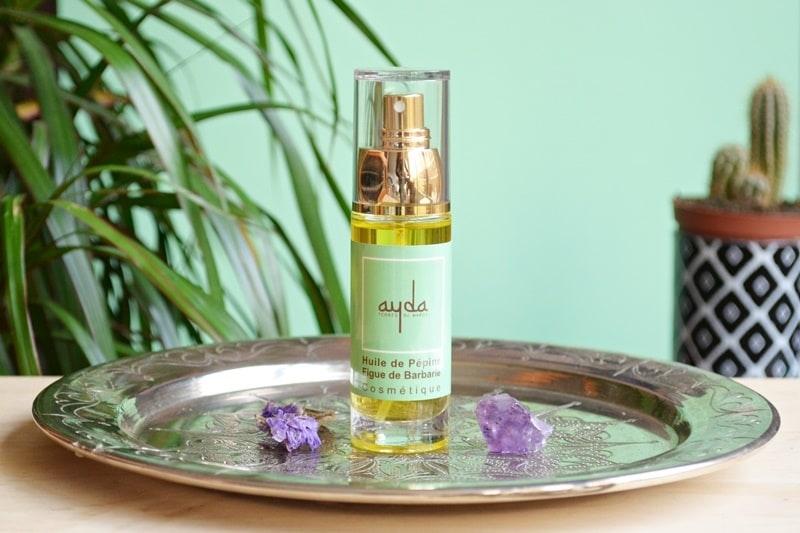 huile figue barbarie routine hammam soin beaute du Maroc