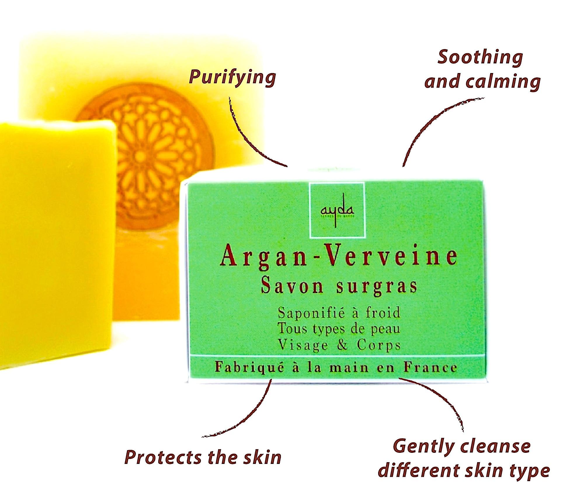 cold soap benefits argan verbena
