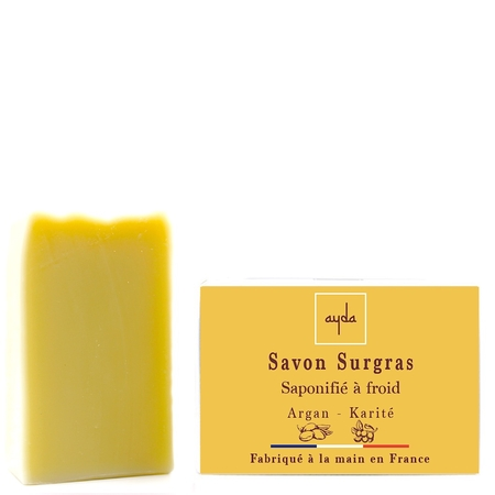 savon à froid bio argan karité made in france