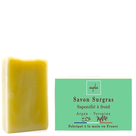savon a froid surgras bio argan verveine made in france