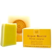 savon saponifie a froid surgras argan karite peau sensible ayda