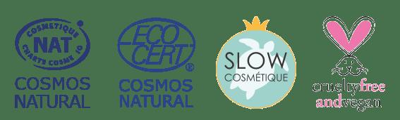 NATURAL ECOCERT COSMEBIO Vegan Slow Cosmétique