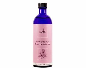 hydrolat de rose bio pur cosmétique ayda