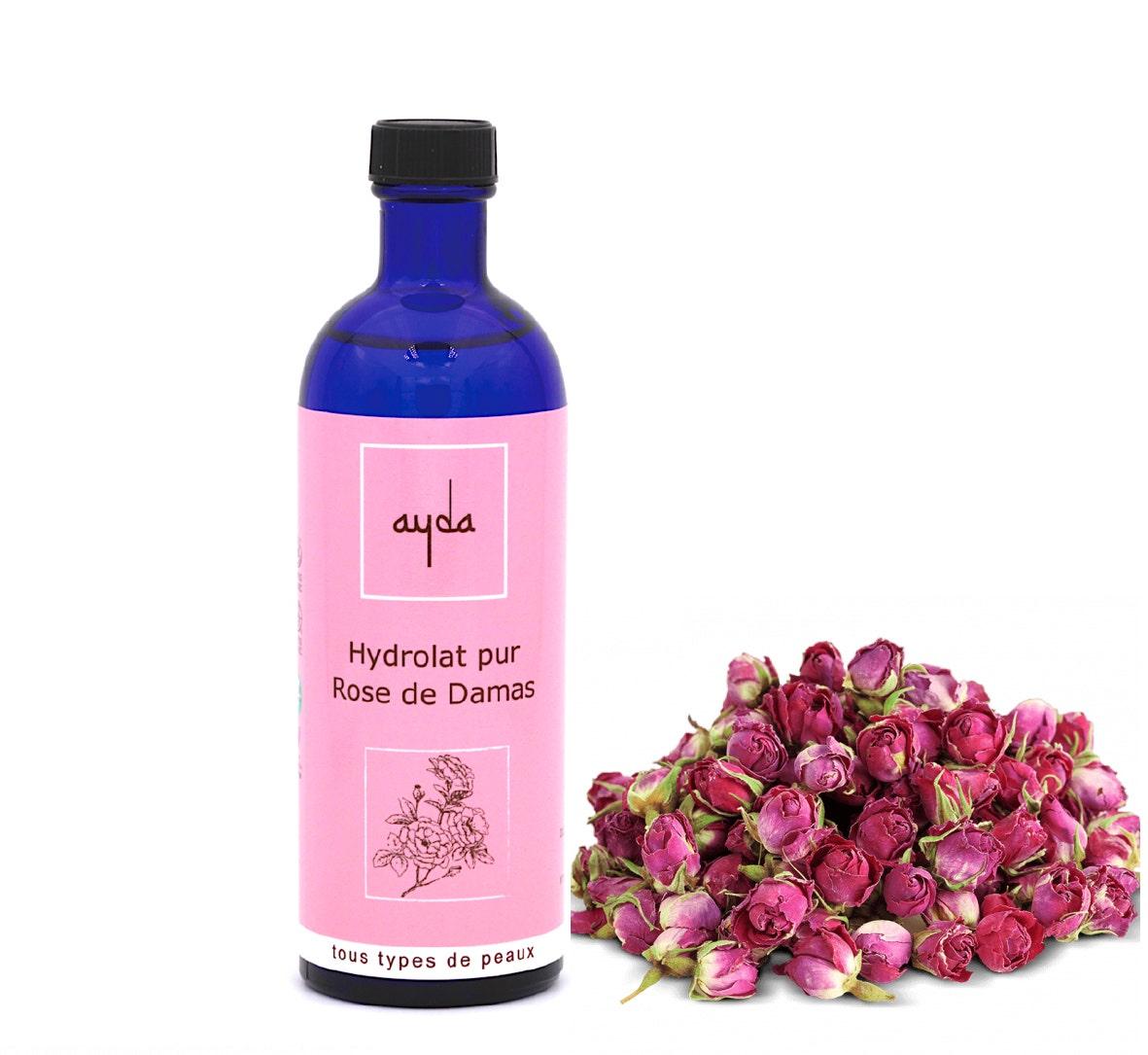 hydrolat rose damas bio