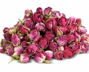 bouton rose de damas