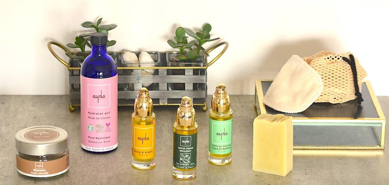 organic Ayda cosmetics