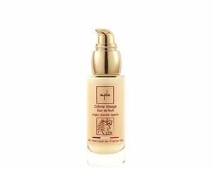 crème visage bio aloe vera argan jasmin cosmétique ayda
