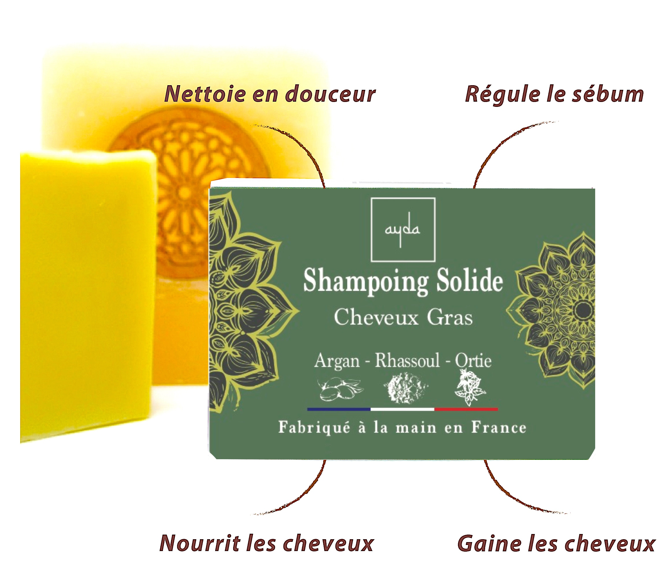 shampoing cheveux gras bienfaits
