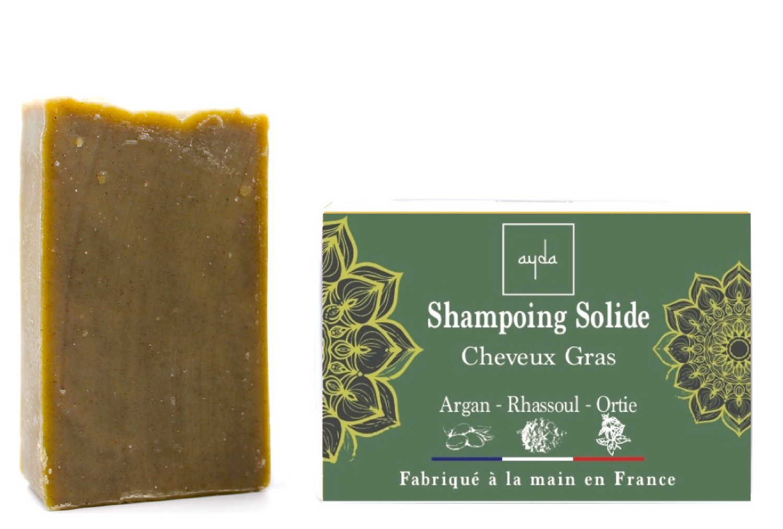 shampoing solide bio cheveux gras