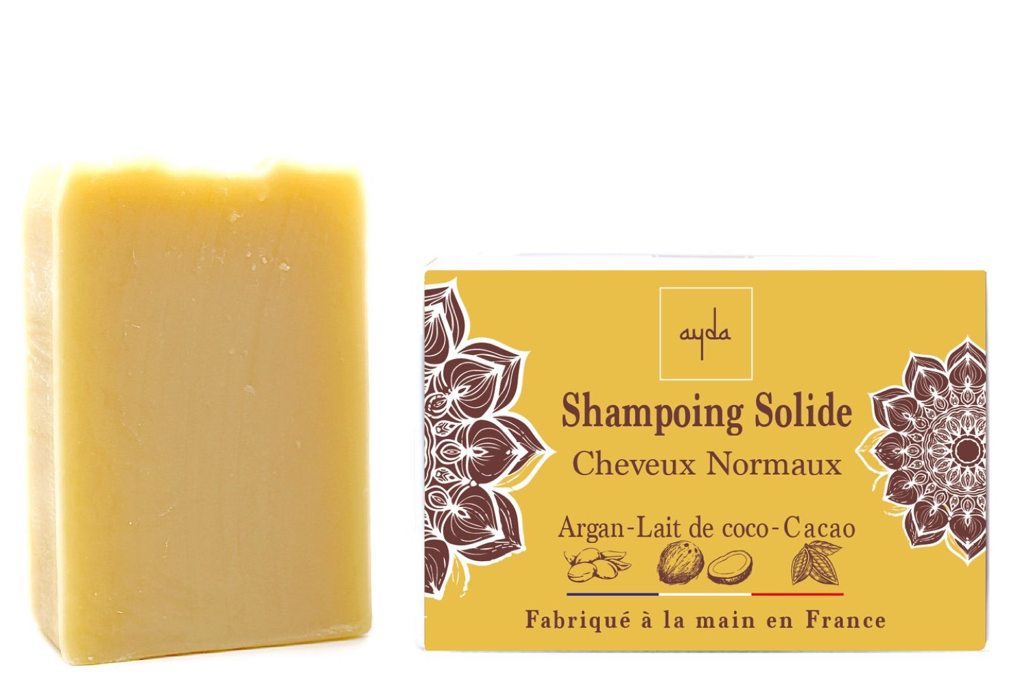 shampoing solide bio cheveux normaux
