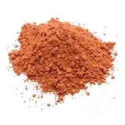 Argile rouge-shampoing solide cheveux secs