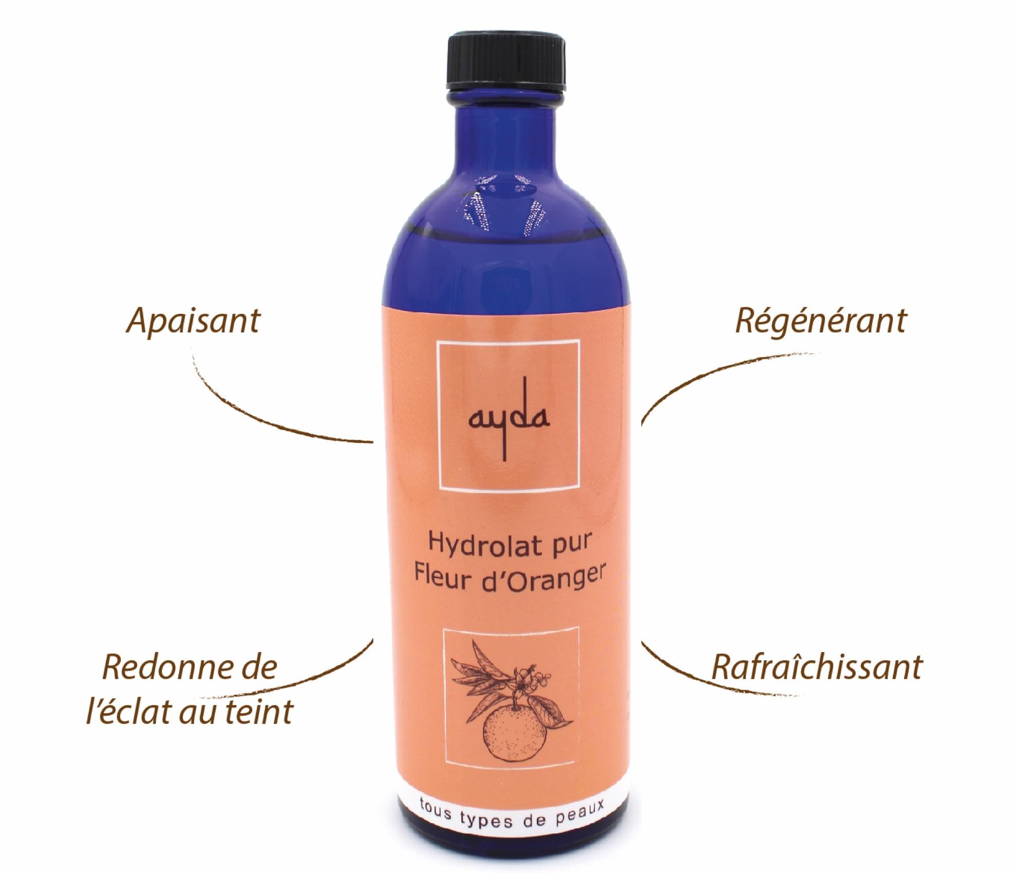 bienfaits hydrolat fleur oranger bio